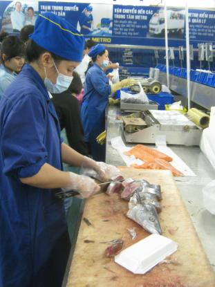 What Metro's suppliers and customers are taught in Vietnam