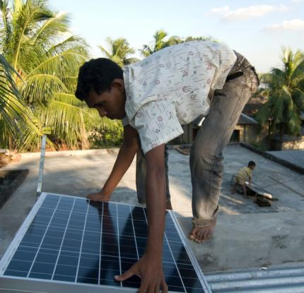 Bangladesh has hardly tapped the potential for solar power so far.