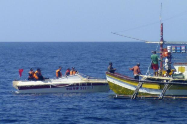 Image result for south china sea, philippines, fishing boat, photos