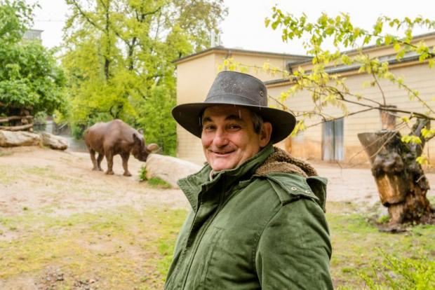 portrait of the south african environmentalist and human rights