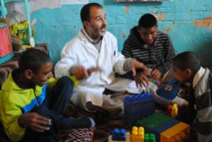 Castro founded a school for intellectually ­disabled Sahrawis in Smara camp in Algeria.