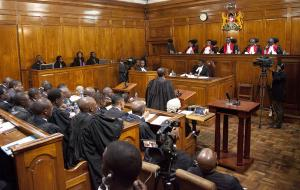 Kenya's top judges insist they will not cave in to illegal intimidation.