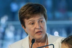 Kristalina Georgieva, the first IMF top leader from a developing country.