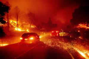 Wildfires have an impact on real-estate prices in California – home in Ventura County.