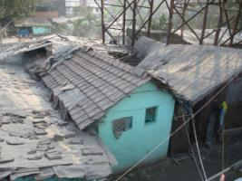 Slum in Kolkata.