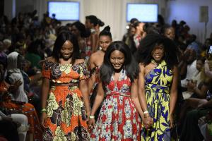 Globale Aufmerksamkeit: African Fashion Week in Toronto im August 2017.