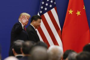 Who is the role model? Donald Trump and Xi Jinping in Beijing in December 2018.