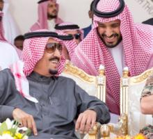 King Salman of Saudi Arabia (left) recently made his son, Prince Mohammad bin Salman, next in line to the throne.