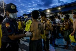 No place for minors: surprise inspection in Manila Central Jail in June 2018.