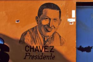 The late Hugo Chávez still shapes his followers' ideals.