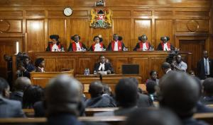 Kenya's top judges have asserted their authority.