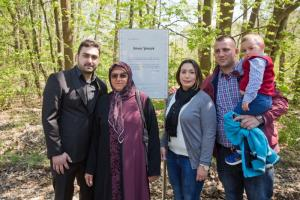 Family members of Enver Şimşek met this year at the place in Nuremberg where NSU terrorists murdered him in 2000.