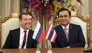 Prayuth Chan-o-cha likes partners who don't interfere. In April, he welcomed Dmitry Medvedev, Russia's prime minister, for economic and trade talks in Bangkok.