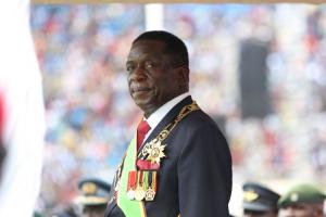 Emmerson Mnangagwa is the second president of Zimbabwe.