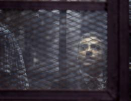 Mohammed Fahmy is one of three Al Jazeera journalists who were sentence to three years in prison in late August.