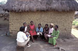 Self-help group of women who were raped in Liberia's civil war.
