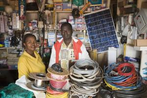 Small businesses need personalised support: electronic supplies store in Uganda.