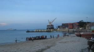 The EU overestimated developing countries' negotiating capacities: container terminal in Stone Town, Zanzibar.