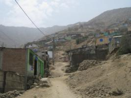 Urban growth is a complex issue: new settlements on the outskirts of Lima, Peru.