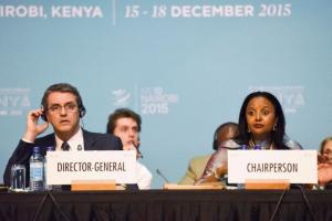 Roberto Azevêdo, WTO director-general, and Amina Mohamed, Kenya's foreign minister, want to keep the show on the road.