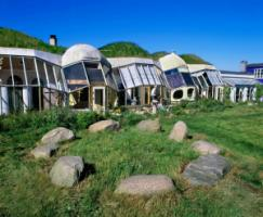A model for the future? An ecological village in Denmark.