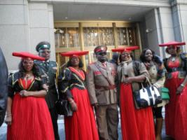 Herero descendants in the USA have gone jointly with groups from Namibia to court in New York, claiming compensations for atrocities committed by Germany's colonial troops in the early 20th century.