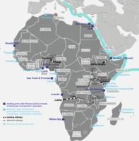African infrastructure projects and Chinese involvement.