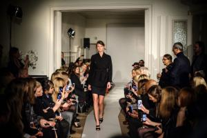 Filippa K fashion show in Berlin. The Swedish brand is a sustainability pioneer.