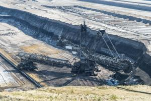 Germany continues to extract climate-destroying brown coal at mines like this in Garzweiler, North Rhine-Westphalia.