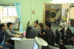 Income disparity enforces other existing inequalities such as ethnic inequality: many members of ethnic minorities in Thailand need interpreters when dealing with public offices.