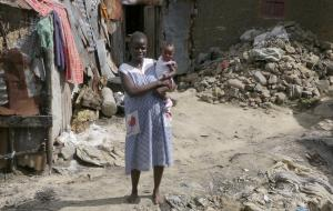 Slum dwellers in Mombasa: inequality is growing in many countries.