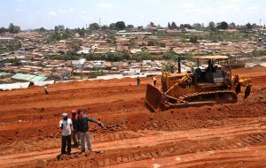 South-south cooperation is not valuable in itself: Chinese-funded road construction in Kenya.