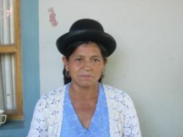 Indigenous woman in Cochabamba, Bolivia.