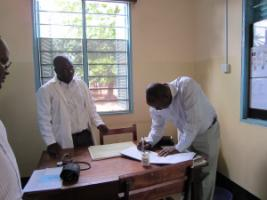 A health centre supported by Novartis Foundation in Michenga, Tanzania.