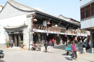 China is expected to become a high-income country soon: shops in Jianshui in Yunnan Province.