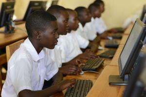 Education matter – secondary school students in Rwanda.