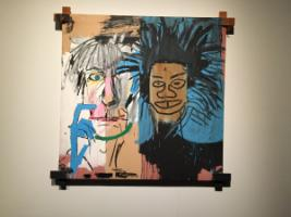 "The painting ""Dos Cabezas"" (1982) is a self-portrait of Jean-Michel Basquiat with Andy Warhol."