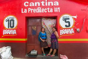 Human trafficking in Latin America is promoted by patriarchal culture: prostitutes in Guatemala.