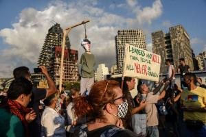 Since the 4th August explosion, protesters in Beirut want vengeance.