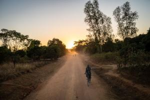 Rural road in Malawi: local people would benefit from better infrastructure.