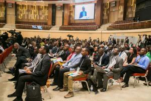 Participants in an SDG conference in Kigali in 2019.