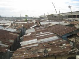 Many students live in slums.