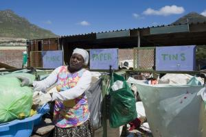 Recycling – as here in Cape Town, South Africa – needs to play a greater role in a green economy.