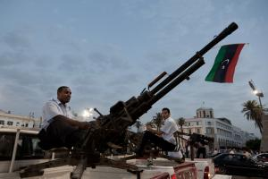 In the course of Libya's revolution, guns became easily available.