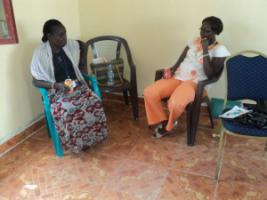 Faihda Dede Ombasa and Irene Dawa both gathered work experience in the west and later returned to their native Uganda.