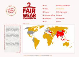 The Fair Wear Foundation's website: http://www.fairwear.org/26/countries/