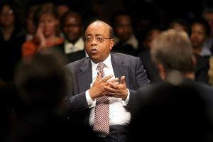 Mo Ibrahim proved  that mobile telecom businesses are viable  in Africa.
