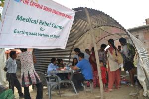 Medical camp in Nepal.