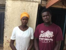 Olawumi Ishola and her brother Michael: still living together eight years after their parents' death - and still struggling.