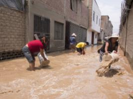 Resilience matters: Lima, the capital of Peru, was hit by unusual rains in March.